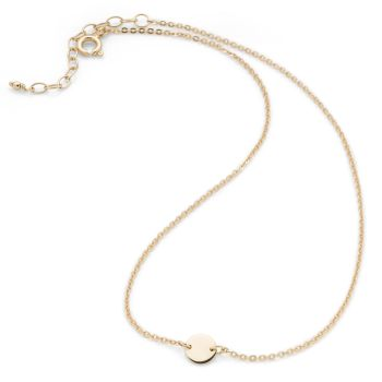 Mini Disk Choker (Gold Plate)