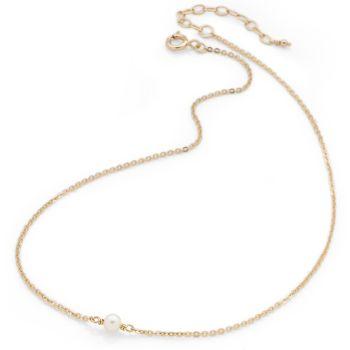 Mini Pearl Choker (Gold Plate)