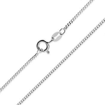 Silver Curb Chain 60cm