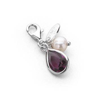 Tsarina Charm (Amethyst Crystal)