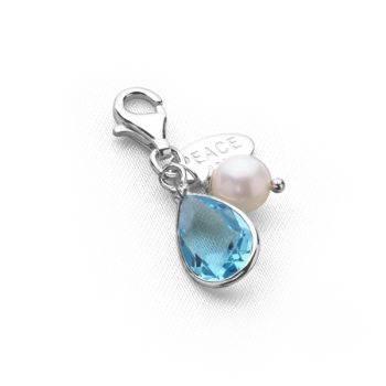 Tsarina Charm (Aquamarine Crystal)
