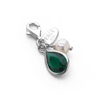 Tsarina Charm (Emerald Crystal)