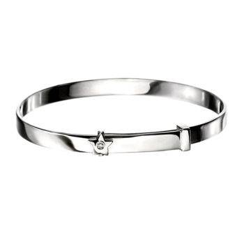 Shooting Star Children's Bangle