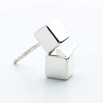 Mini Cube Earrings