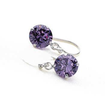Bedazzle Earrings (Amethyst)