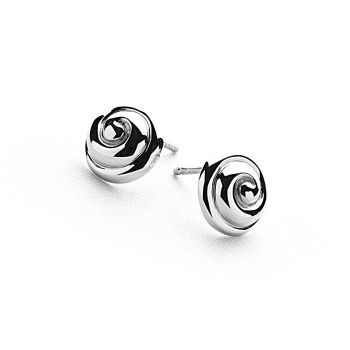 Silver Cupcake Earrings
