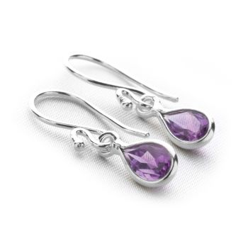 Celestial Rain Earrings (Amethyst)