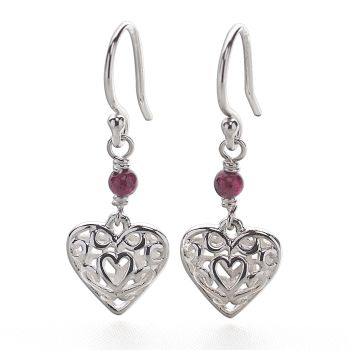 Romance in Red Earrings