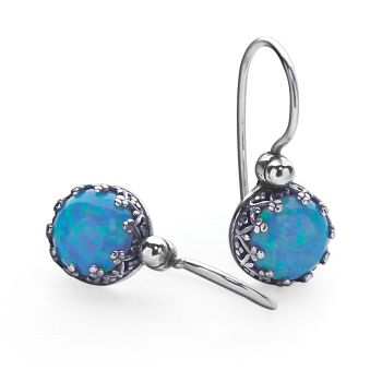 Royal Opal Earrings