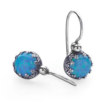 Royal Opal Earrings