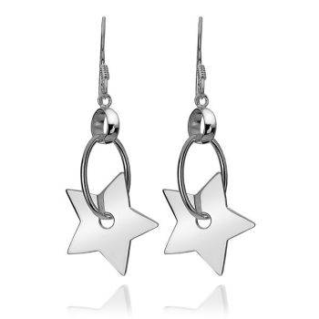 Star Wheel Earrings