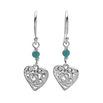Romance in Blue Earrings
