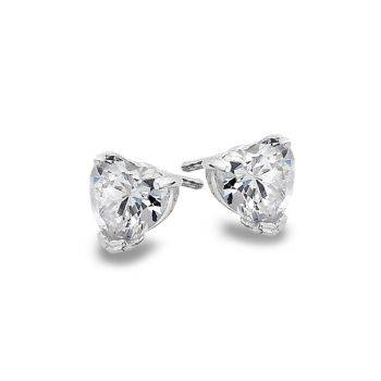 Shining Heart Studs (Large)