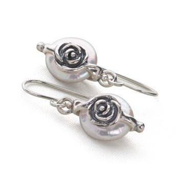 Silk & Roses Earrings