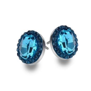 Duchessa Studs (Blue)
