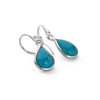Turquoise Tear Earrings