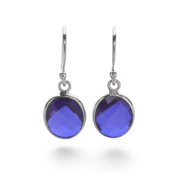 Tanzanite Plum Earrings