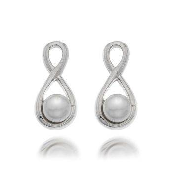 Pearl Infinity Studs