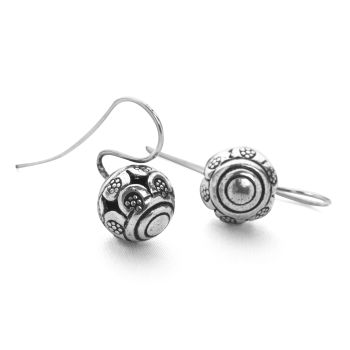 Temple Orb Earrings