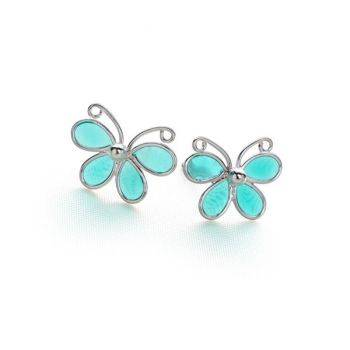 Paradise Butterfly Studs (TQ)