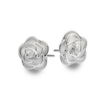 Rose de Mai Studs (White)