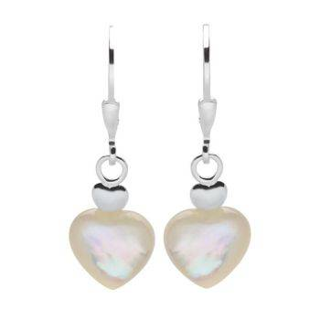 Pearl at Heart Earrings
