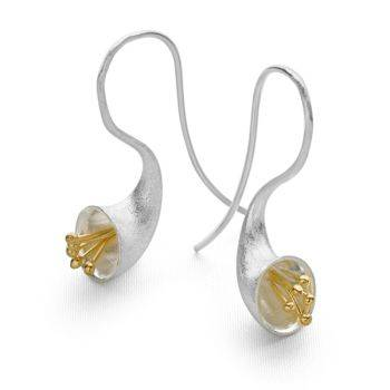 Satin Bloom Earrings