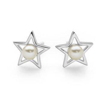 Pearl Star Studs