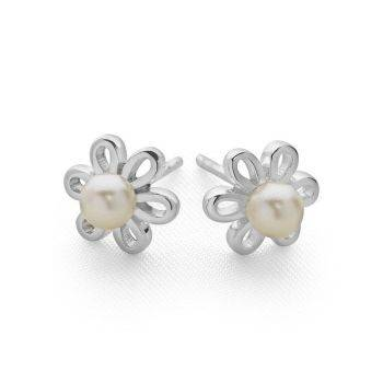 Spring Pearl Studs