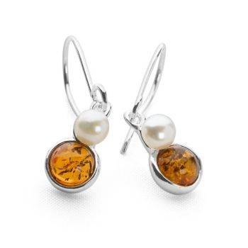 Amber Seas Earrings