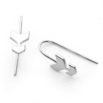 Silver Arrow Earrings