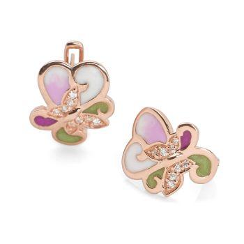 Lilac Field Earrings