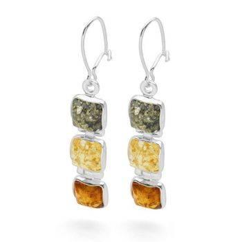 Amber Strata Earrings