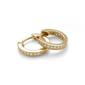 Mahala Gold Hoops