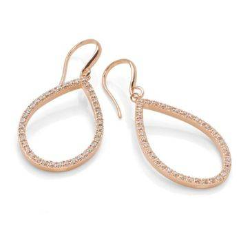 Cascata Rose Earrings