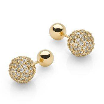 Second Sight Studs (Gold)