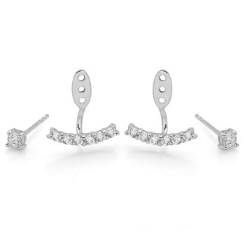 Ava Earrings (Ear Jacket)