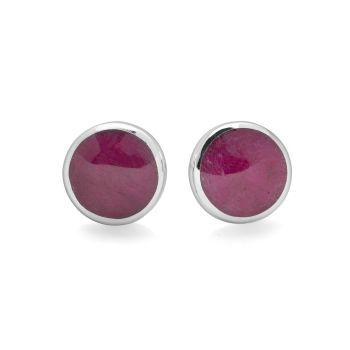 Ruby Moon Earrings