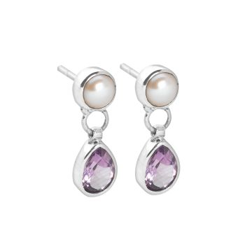 Lilac Spring Earrings