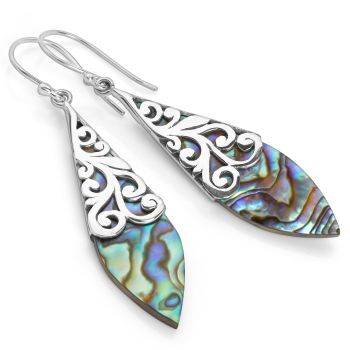 Peacock's Feather Earrings