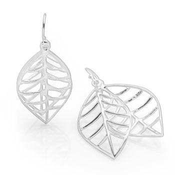 Sarissa Leaf Earrings