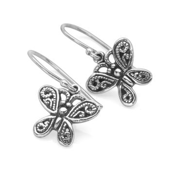 Broderie Butterfly Earrings