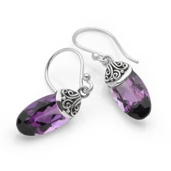 Amethyst Adore Earrings