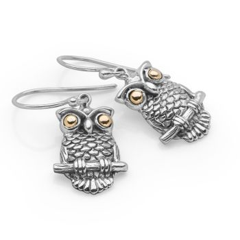 Sacred Owl Earrings