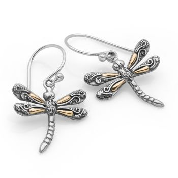 Divine Dragonfly Earrings
