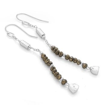 Ravina Earrings (Silver)