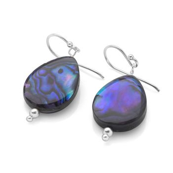 Purple Mirage Earrings