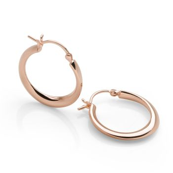 Romana Hoops Rose Gold (Small)