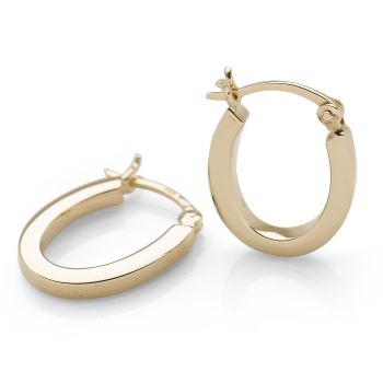 U-Nique Hoops (Gold Plate)