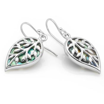 Abalone Glade Earrings